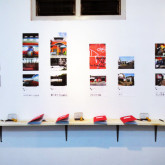 Interactive installation (books, photographs)