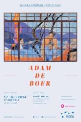 Poster Presentasi Adam de Boer